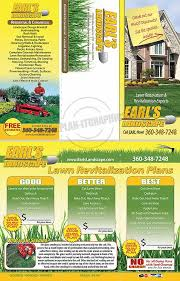 Lawn Care Brochure Lawn Landscape Brochures Brochures For You Lawn Care Or