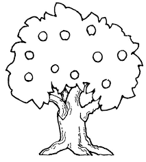 Small Picture Big Apple Tree Colouring Page Big Apple Tree Colouring Page