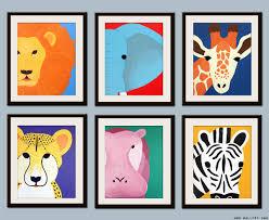 wall art decor ideas print zoo decoration nursery animal on safari animal wall art with nursery animal wall art elitflat
