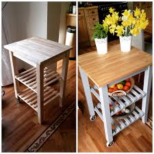 Bekvam kitchen cart Outdoor Wood Before And After Of My Quick Kitchen Trolley Project Plants And Prints Diy And Design For The Home Birds On Bit Of Ikea Hack Kitchen Trolley