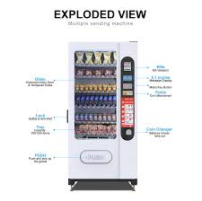 Vending Machine In Spanish Extraordinary Promotion Coin Operated Snack And Cold Drink Vending Machine LV48f