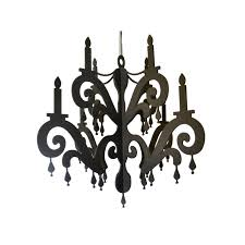 chandelier with jewels elegant black home party decor party chandelier decoration