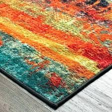 epic blue and orange rug interior designing area rugs oriental
