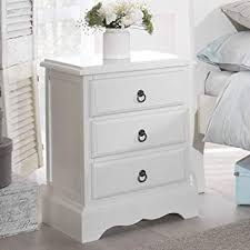 stunning white lacquer nightstand furniture. Romance Bedside Table, Stunning White Bedside Cabinet With 3 Drawers,  ASSEMBLED (antique Stunning Lacquer Nightstand Furniture R