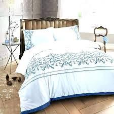 embroidered duvet cover set white king john lewis
