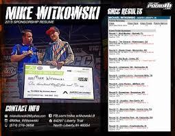 Nice Motocross Resume Samples Photo Example Resume Ideas