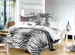 black and white zebra print bedding set queen size duvet cover linen bed linen sheet bedspread