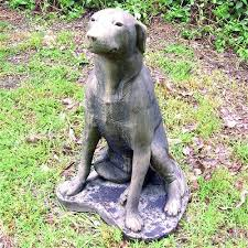 dog garden statue. Exellent Dog Labrador Dog Garden Statue For U