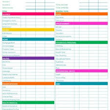Monthly Budget Template Budget Worksheet : Oninstall