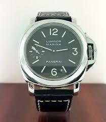 panerai luminor marina pam0111 men 039 s watch image is loading panerai luminor marina pam0111 men 039 s watch