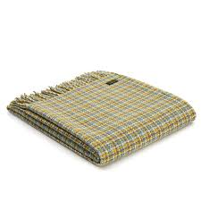 tweedmill festival wilderness pure new wool throw blanket amazing green rug lemon grey check exceptional area cleaning great lime g rugs suitable with