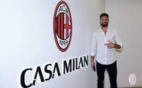 رسميًا: الفرنسي أوليفيه جيرو ينضم إلى الميلان الإيطالي