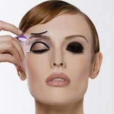 10pcs makeup cat eyeliner shaper smokey eye models card stencil template tool incoins