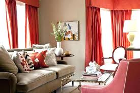 Tan Couch Living Room Decor Curtain Colors For Walls Nice Red Wall Curtains  With Pillows Green White