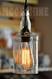 well suited ideas wine bottle pendant light kit fancy for with lights plan 8 whiskey lamp moonshine company inside 3