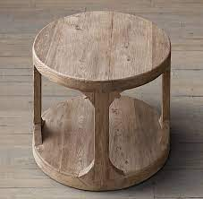 martens round side table coffee table