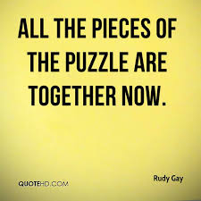 Puzzle Quotes Enchanting Rudy Gay Quotes QuoteHD