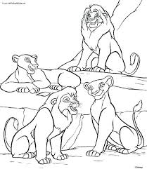 Coloring A Lion King Pictures To Color Scar And His Son The Pages