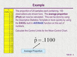 T T20 03 P Chart Control Limit Calculations Purpose Allows