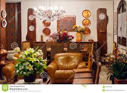 Old Style Living Room Lounge Indoor Furniture Old Style Stock Photo Image 22609230