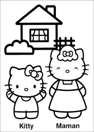 Hello Kitty Kleurplaten Voor Beginners