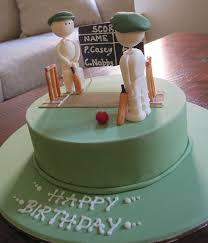 Husband Birthday Cake Ideas Buscar Con Google Cricket Cake