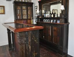 Antique Wood Bar - York, ME traditional-wine-cellar
