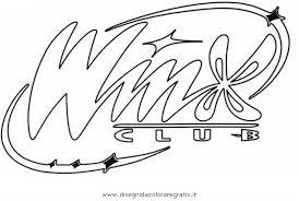 Disegno Winxclublogo Personaggio Cartone Animato Da Colorare