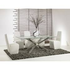 mantis rectangle dining table base w glass options