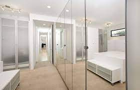 how mirrored closet doors can enhance