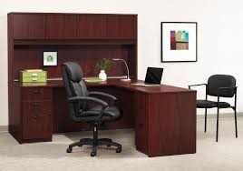 basyx by hon l shaped desks with hutch