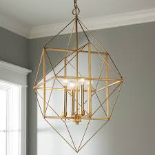 new geometric light fixture gold and silver leaf lantern small shade of canada uk diy shaped