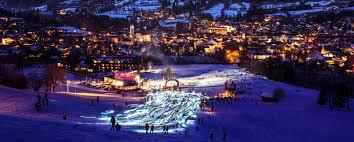 Streif Vertical Up Kitzbuehel Tyrol Austria