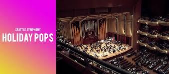 Benaroya Seating Chart Seattle Symphony Holiday Pops Benaroya Hall Seattle Wa