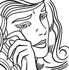 Small Picture 20 best Lichtenstein images on Pinterest Adult coloring