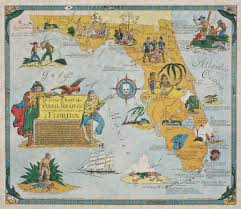 Treasure Chart Locations Ye True Chart Of Pirate Treasure Lost Or Hidden In The Land