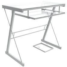 small glass computer desk glass computer desk with small glass writing desk with glass desk shelf