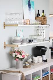 style a coffee cart in your home for setting up and serving coffee to guests or just for yourself each morning domino magazine shows you how to style your attractive coffee bar home 4