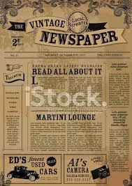 Newspaper Template Illustrator Newspaper Design Template Musacreative Co