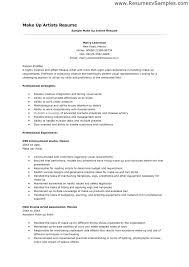 Artist Resume Format Sample Resume For An Art Director Graphic