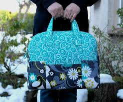 7 Stylish Duffel Bag Patterns You Can Sew in a Weekend & Weekender Travel Bag Overnight Bag Adamdwight.com