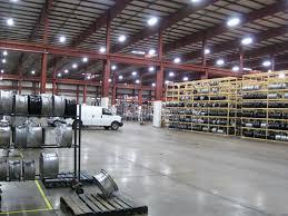 led high bay light in warehouses