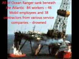 「ocean ranger disaster」の画像検索結果