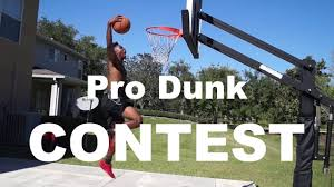 pro dunk hoops. Hammering On An Pro Dunk Hoops Basketball Goal! Contest! N
