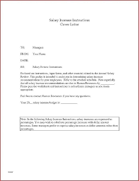 Salary Letters From Employer Increment Letter Template Employer Salary Review Letter Template