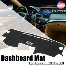 Details About Fit For Acura Tl 2004 2008 Dashboard Cover Dashmat Dash Mat Sun Cover Pad Trim