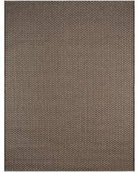 8u0027x10u0027 Outdoor Rug  Coffee Basketweave Smith U0026 Hawken Gray Brown