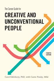 about the book creative careers the career guide book