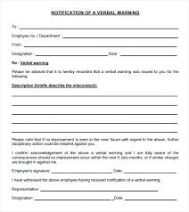 Employee Notice Form Warning Hr Written Template Uk – Celebratelife