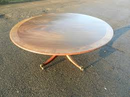 large round antique regency table georgian revival mahogany dining table to seat 8 people